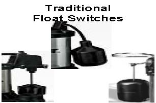 traditional of float switches